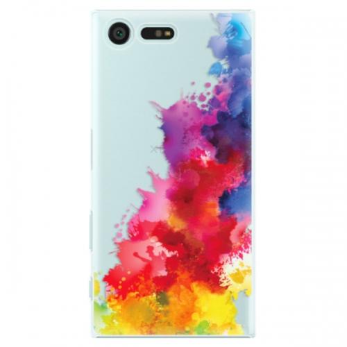 Plastové pouzdro iSaprio - Color Splash 01 - Sony Xperia X Compact