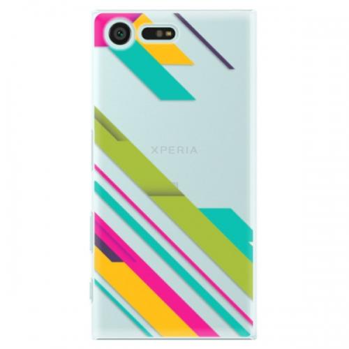 Plastové pouzdro iSaprio - Color Stripes 03 - Sony Xperia X Compact