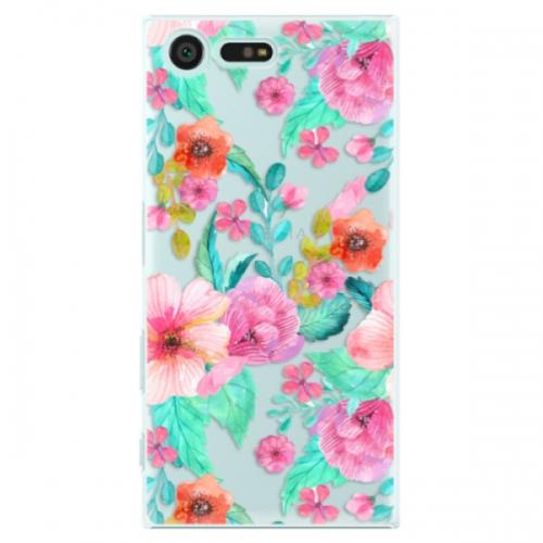 Plastové pouzdro iSaprio - Flower Pattern 01 - Sony Xperia X Compact