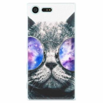 Plastové pouzdro iSaprio - Galaxy Cat - Sony Xperia X Compact