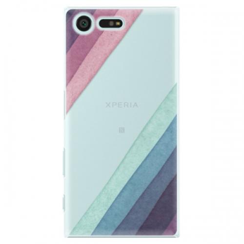 Plastové pouzdro iSaprio - Glitter Stripes 01 - Sony Xperia X Compact