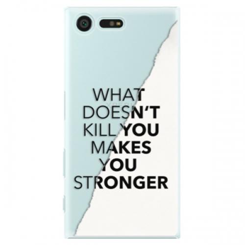 Plastové pouzdro iSaprio - Makes You Stronger - Sony Xperia X Compact
