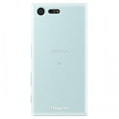 Plastové pouzdro iSaprio - 4Pure - mléčný bez potisku - Sony Xperia X Compact