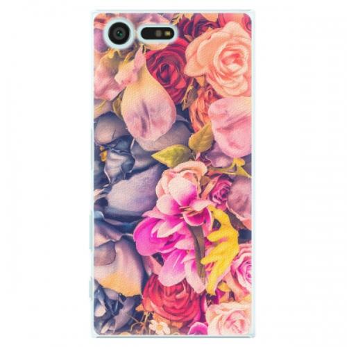 Plastové pouzdro iSaprio - Beauty Flowers - Sony Xperia X Compact