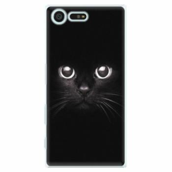 Plastové pouzdro iSaprio - Black Cat - Sony Xperia X Compact