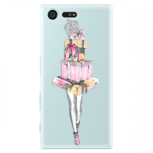 Plastové pouzdro iSaprio - Queen of Shopping - Sony Xperia X Compact