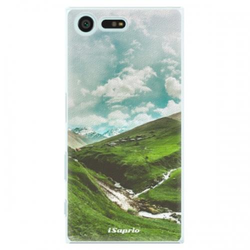Plastové pouzdro iSaprio - Green Valley - Sony Xperia X Compact