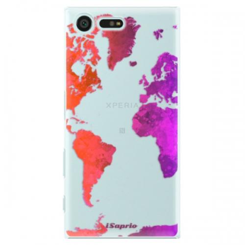Plastové pouzdro iSaprio - Warm Map - Sony Xperia X Compact