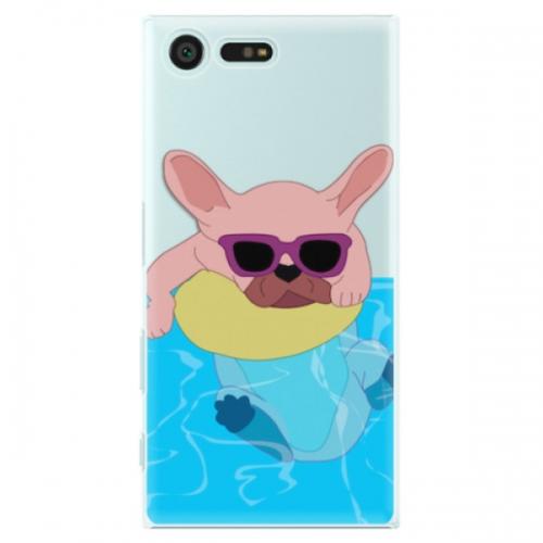 Plastové pouzdro iSaprio - Swimming Dog - Sony Xperia X Compact