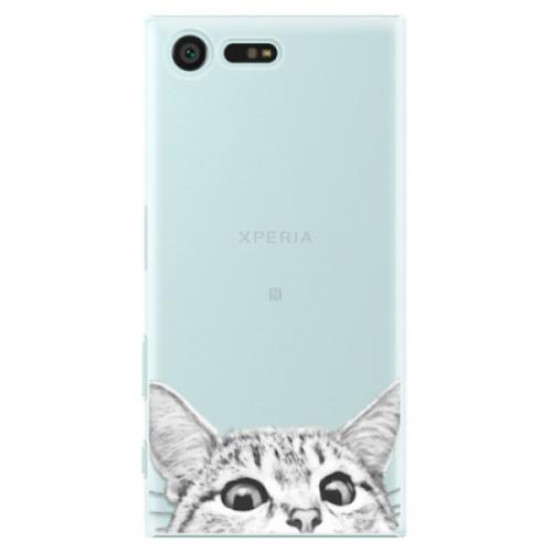 Plastové pouzdro iSaprio - Cat 02 - Sony Xperia X Compact