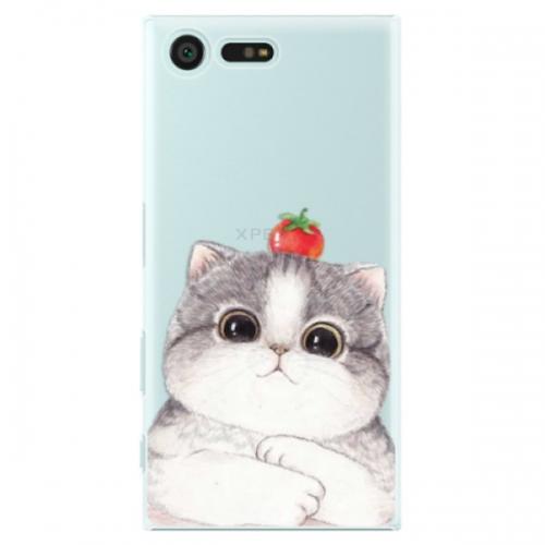 Plastové pouzdro iSaprio - Cat 03 - Sony Xperia X Compact