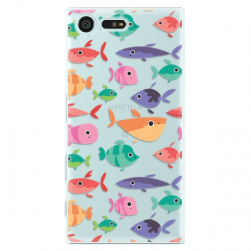 Plastové pouzdro iSaprio - Fish pattern 01 - Sony Xperia X Compact