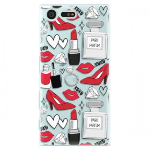 Plastové pouzdro iSaprio - Fashion pattern 03 - Sony Xperia X Compact