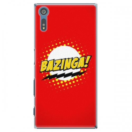 Plastové pouzdro iSaprio - Bazinga 01 - Sony Xperia XZ