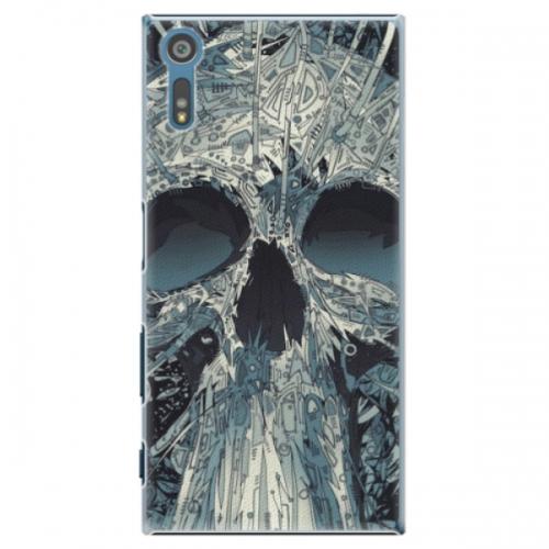 Plastové pouzdro iSaprio - Abstract Skull - Sony Xperia XZ