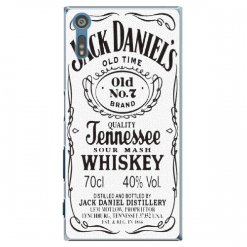 Plastové pouzdro iSaprio - Jack White - Sony Xperia XZ