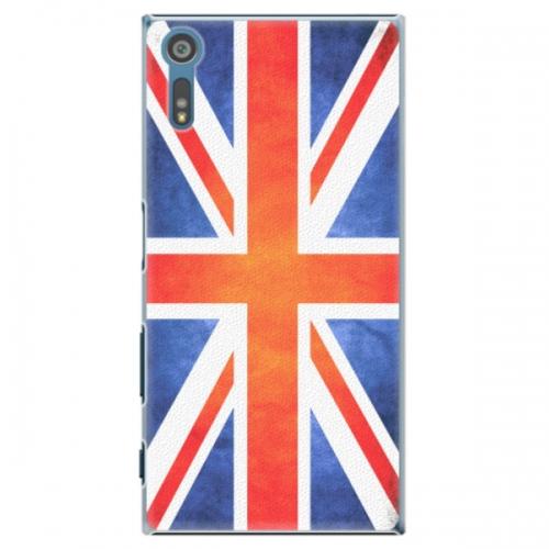 Plastové pouzdro iSaprio - UK Flag - Sony Xperia XZ