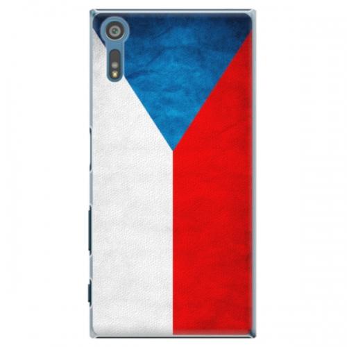 Plastové pouzdro iSaprio - Czech Flag - Sony Xperia XZ