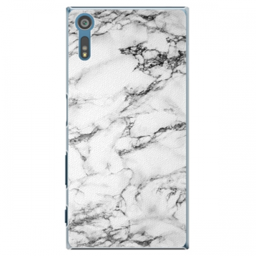 Plastové pouzdro iSaprio - White Marble 01 - Sony Xperia XZ