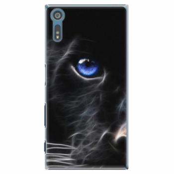 Plastové pouzdro iSaprio - Black Puma - Sony Xperia XZ