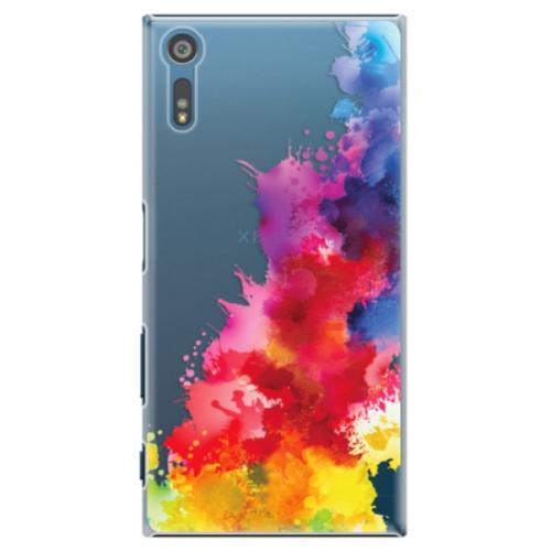 Plastové pouzdro iSaprio - Color Splash 01 - Sony Xperia XZ