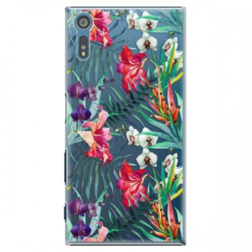 Plastové pouzdro iSaprio - Flower Pattern 03 - Sony Xperia XZ