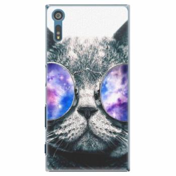 Plastové pouzdro iSaprio - Galaxy Cat - Sony Xperia XZ