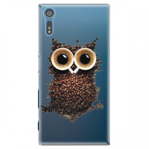 Plastové pouzdro iSaprio - Owl And Coffee - Sony Xperia XZ
