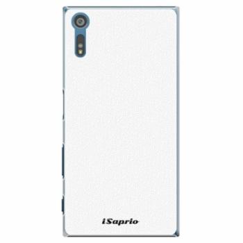 Plastové pouzdro iSaprio - 4Pure - bílý - Sony Xperia XZ