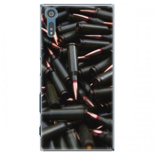 Plastové pouzdro iSaprio - Black Bullet - Sony Xperia XZ
