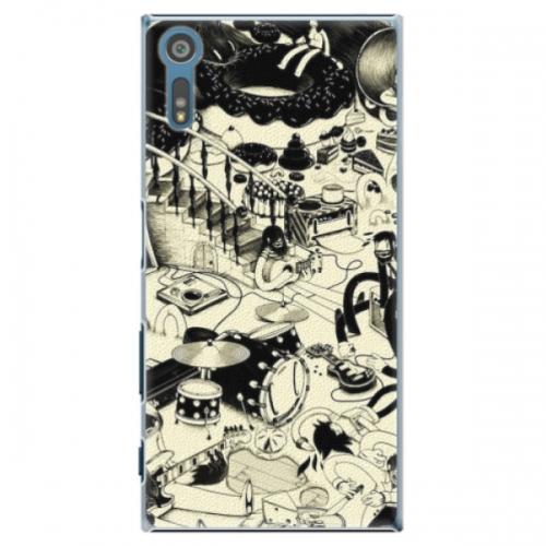 Plastové pouzdro iSaprio - Underground - Sony Xperia XZ