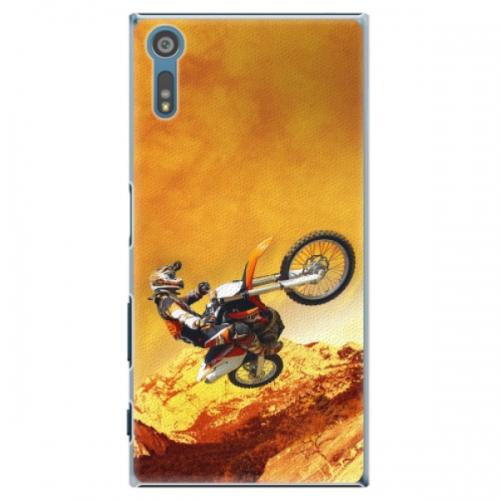 Plastové pouzdro iSaprio - Motocross - Sony Xperia XZ