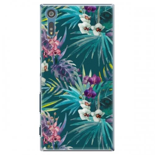 Plastové pouzdro iSaprio - Tropical Blue 01 - Sony Xperia XZ