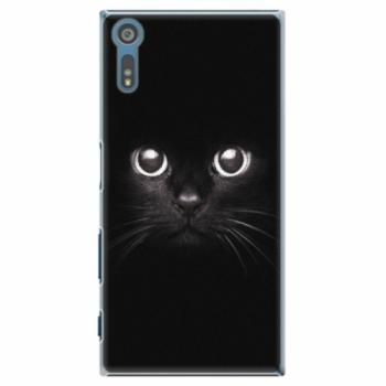 Plastové pouzdro iSaprio - Black Cat - Sony Xperia XZ