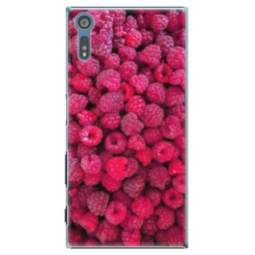 Plastové pouzdro iSaprio - Raspberry - Sony Xperia XZ