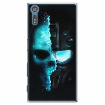 Plastové pouzdro iSaprio - Roboskull - Sony Xperia XZ