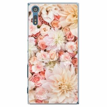 Plastové pouzdro iSaprio - Flower Pattern 06 - Sony Xperia XZ