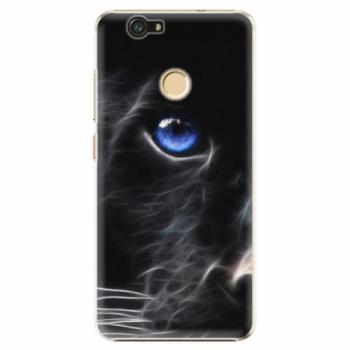 Plastové pouzdro iSaprio - Black Puma - Huawei Nova