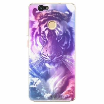 Plastové pouzdro iSaprio - Purple Tiger - Huawei Nova