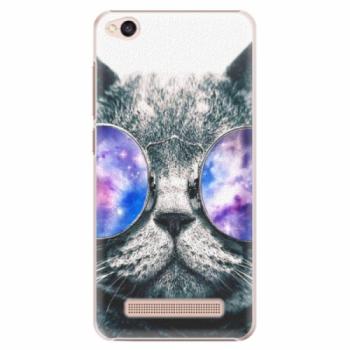 Plastové pouzdro iSaprio - Galaxy Cat - Xiaomi Redmi 4A