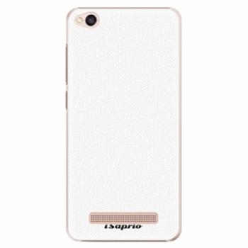 Plastové pouzdro iSaprio - 4Pure - bílý - Xiaomi Redmi 4A