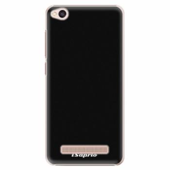 Plastové pouzdro iSaprio - 4Pure - černý - Xiaomi Redmi 4A