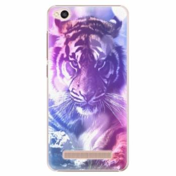 Plastové pouzdro iSaprio - Purple Tiger - Xiaomi Redmi 4A