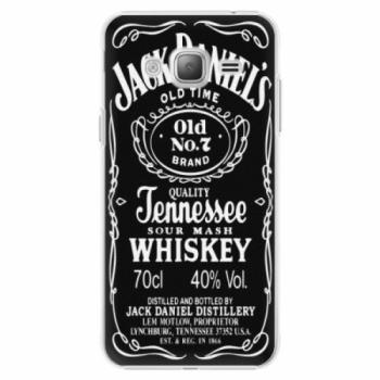 Plastové pouzdro iSaprio - Jack Daniels - Samsung Galaxy J3