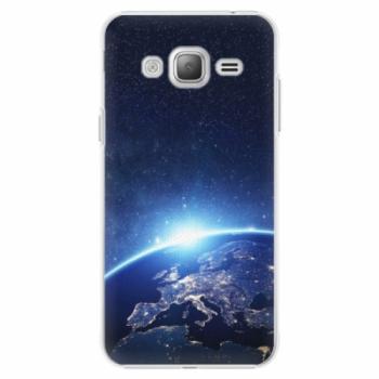 Plastové pouzdro iSaprio - Earth at Night - Samsung Galaxy J3