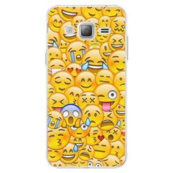 Plastové pouzdro iSaprio - Emoji - Samsung Galaxy J3