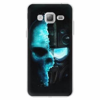 Plastové pouzdro iSaprio - Roboskull - Samsung Galaxy J3