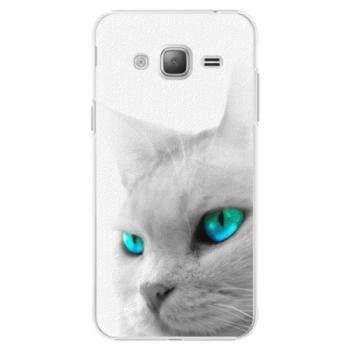 Plastové pouzdro iSaprio - Cats Eyes - Samsung Galaxy J3