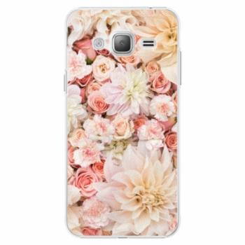Plastové pouzdro iSaprio - Flower Pattern 06 - Samsung Galaxy J3