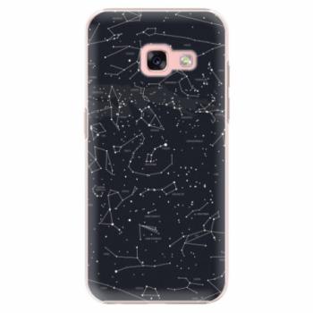 Plastové pouzdro iSaprio - Night Sky 01 - Samsung Galaxy A3 2017